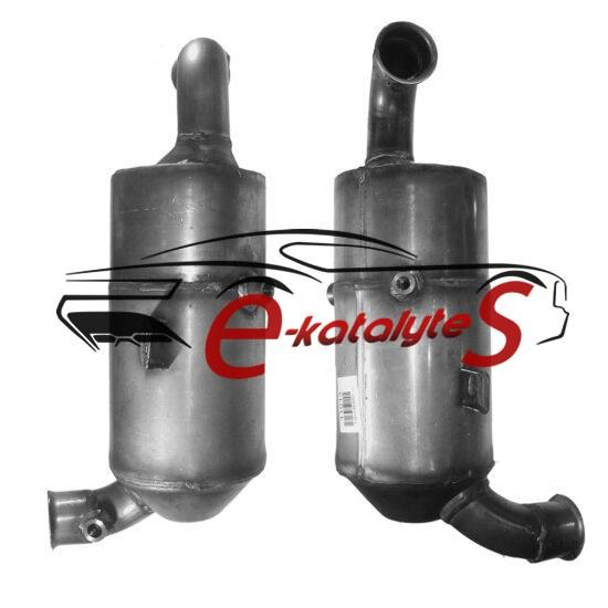 PEUGEOT 1007 1.6 HDi (DV6TED4 eng; cat & DPF combined) 7/2007-12/9999